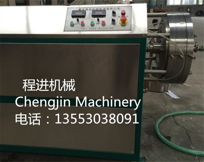 CJ-60 single head latex automatic foaming machine 5disk