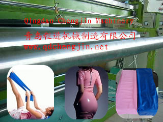 Latex sheet production line